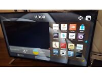 LUXOR 55 TV 4K SUPER Smart HD TV,built in Wifi,Freeview HD, NETFLIX. 2017 Model...RRP £499