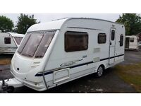 CARAVAN STERLING CRUACH TORRIN 500 5 BERTH WITH AWNING