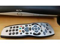 Sky + HD Box, Remote and Router