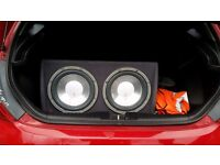 Fli SUBWOOFER WITH FULL WIRING KIT (2400W)