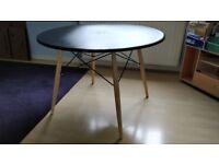 Eiffel / Charles Eames / DSW inspired 100 cm black table