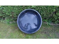 koi fish holding tank, quarantine Grow on. Dog bath. Multiuse tub
