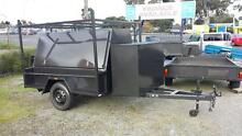 7x4 ELITE BUILDERS TRAILER WITH COMPRESSOR BOX - GHM Narre Warren Casey Area Preview