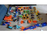 Loads of Nerf Guns