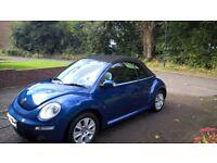 Volkswagen New Beetle Blue