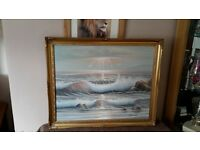 seascape painting by Morrison in oil or acrylic