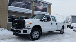 2015 Ford F-250 XL, 4X4, Crew, Long, 58211km