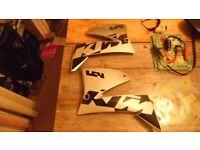 KTM LC4 rad scoops