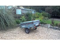 Trailer, ideal for camping or general use.