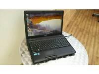 Toshiba c660 Laptop Fast i3 Webcam 250gb hard drive
