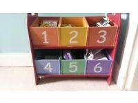 Kid's storage boxes/bedroom furniture