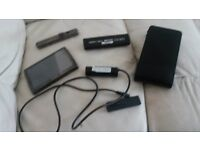ARCHOS INTERNET TABLET WITH ACCESSORIES, CARRY CASE, BATTERY DOCK, CAMERA, TV SNAP ON GOOD CONDITION