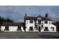 The Bull at Shocklach is a country pub with easy travel of Malpas, Whitchurch, Wrexham & Chester.