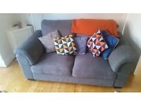 Two seat ikea couch