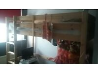 3ft high sleeper with side ladder