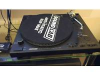 Sound lab 1600 record player,and 800 records