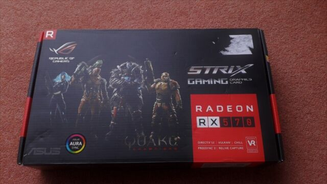 ASUS AMD RX 570 4GB GDDR5 DX12/Vulkan Freesync DUAL GRAPHICS CARD  -EXCELLENT CONDITION- rx570 GPU   in Epsom, Surrey   Gumtree