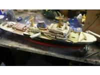 Zwarte zee rc model boat