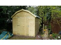 large shed brand new garden shed 12ft x 8ft dutch barn style from