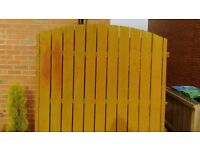 Solid wood fencing & posts