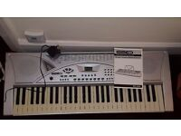 Acoustics Keyboard & stand for sale