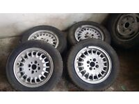 Bmw e30 alloy wheels