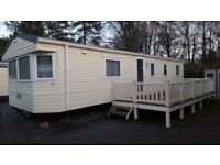 Static Caravan for rent on Tummel Valley holiday park in rural Perthshire, Scotland - sleeps 8