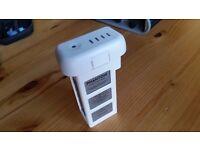 Genuine DJI Phantom 3 battery - times charged 28 - battery life 4 green lights
