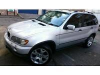 BMW X5 2001 3.0 DIESEL AUTOMATIC SILVER BRISTOL 12 month MOT