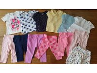 Baby Girl Clothes Bundle - 6-12m - High street brands, excellent condition