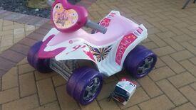 Childs quad bike, re chargable
