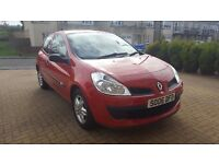 renault clio extreme 1149cc red 06 plate newshape 895 no offers swap for 7 seater