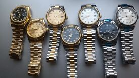 Rolex datejust submariner 40 each or 3 for 100