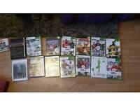 X box 360 games etc