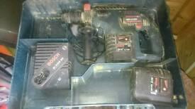 Cordless bosch PROFESSIONAL sds hammer drill