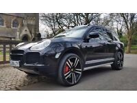 "RARE 2006 PORSCHE CAYENNE 4.5 TURBO S 520 BHP MONSTER TOP SPEC PAN ROOF 22"" ALLOYS HUGE SPEC"