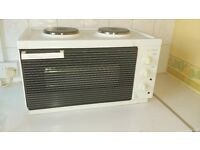 mini kitchen table top oven and two hobs