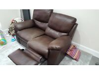 3 x 2 seater recliner sofas- used but decent condition