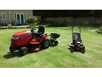 Snapper LT1840 mower, 18hp commercial V twin, 40 inch muching deck