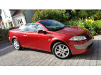 Renault Megane Cabriolet 1.9 Diesel Dynamique Full Leather and Panorama Glass Roof