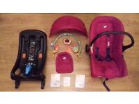 Joie Juva 0+ Car seat with Isofix and Toybar