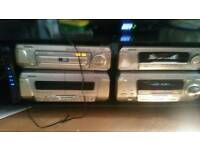 Technics 5 disc dvd home cinema