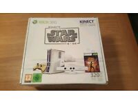 Boxed Star Wars Limited Edition Xbox360 Slim Console with Kinect