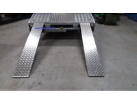 **8ft*61cm tradeplate Loading Ramps Ramp Recovery truck van trailer XXL £299