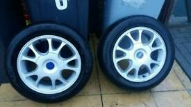 FORD GALAXY ALLOYS RECENT TYRES
