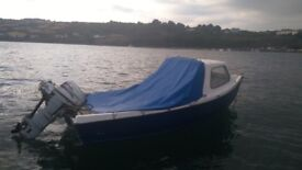 Orkney coast liner boat 14ft 20hp
