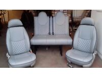 T5 M1 ROCK AND ROLL 3/4 BED SET LUXURY LEATHER £1495