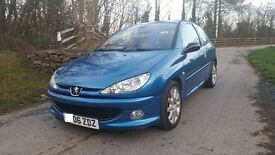 2006 Peugeot 206 HDI GTI 1.6 Diesel NEW MOT EW EM CL CD stunning car RECENT CLUTCH MAY PART EX WHY