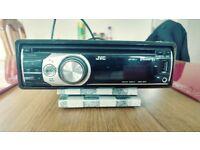 JVC CD RADIO PLAYER