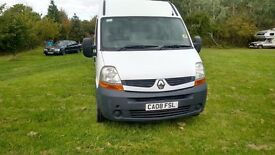 2008 Renault Master MWB Tidy - Cheap Van - New MOT - Ready for work - Similar to Transt Movano T5